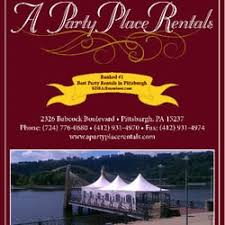 party rentals pittsburgh a party place rentals party equipment rentals 2326 babcock