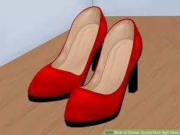 Comfortable High Heels 3 Ways To Choose Comfortable High Heels Wikihow