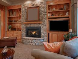 fireplace fabulous living room design ideas with grey stone