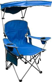 amazon com quik shade adjustable canopy folding camp chair