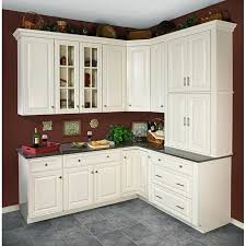 White Kitchen Wall Cabinets - Kitchen cabinets overstock