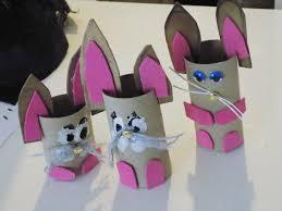 bricolage noel avec rouleau papier toilette fabriquer un lapin avec un rouleau en carton youtube