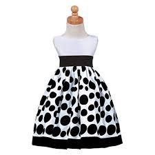 christmas dresses for toddlers lito white black polka dot taffeta