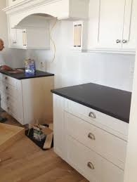 what is the kitchen cabinet cup pulls what is the proper to install on a shaker kitchen