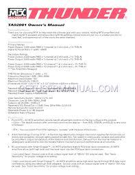 rca remote manual mtx audio car amplifier mtx thunder ta92001 user u0027s manual download