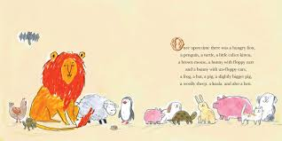 a hungry lion or a dwindling assortment of animals book by lucy