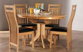 extendable kitchen table and chairs round table with 4 chairs set lesdonheures com