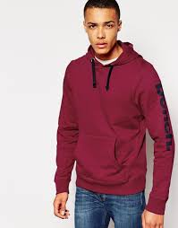 bench hoodie in red for men lyst