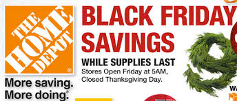 home depot black friday af home depot black friday ad 2014 southern savers