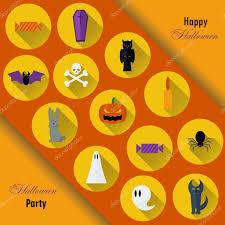 halloween background vector halloween background vector illustration flat halloween icons in