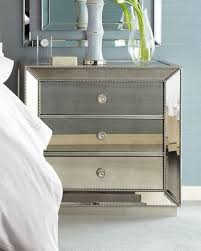Silver Leaf Nightstand Silver Leaf Furniture Neiman Marcus