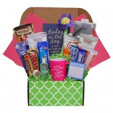 college gift baskets college students care packages gifts