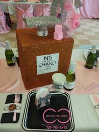 parisian perfume bottle centerpiece creative collection by shon