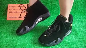 retro ferrari shoes air jordan 14 black suede ferrari on foot show hd review by