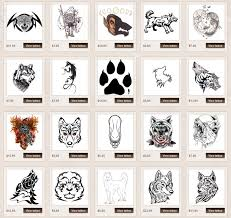 wolf meanings itattoodesigns com