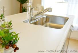 Kitchen Counter by Clean Kitchen Counter Living Well Spending Less