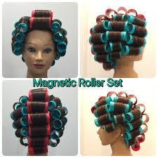 Roller Set Hairstyles Magnetic Roller Set U2026 Pinteres U2026
