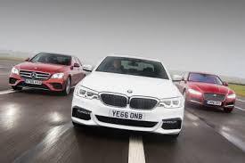 5 series mercedes bmw 5 series vs mercedes e class vs jaguar xf auto express