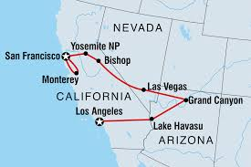 Usa Carry Map by United States Tours U0026 Travel Intrepid Travel Us