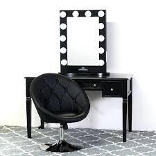 Jewelry Vanity Table Vanities Black Vanity Table Set With Stool Jewelry Makeup Desk