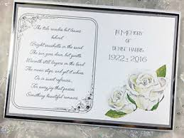 memorial guest book personalised luxury book of condolence funeral memorial guest book