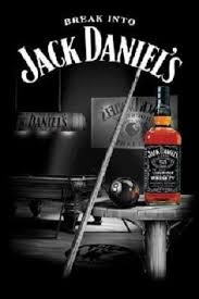 Pool Table Jack Buy Jack Daniels Whiskey Poster Print Picture Bottle And Pool