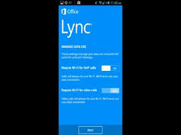 microsoft lync 2013 for android installation of lync 2013 android