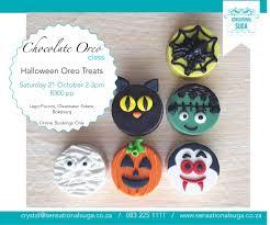 book tickets for halloween oreo treats class