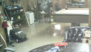 backyard flooded basement restoration and cleaning grosse pointe