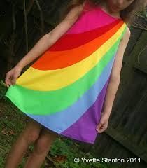 rainbow dress u2013 sewing projects burdastyle com