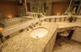 granite bathroom countertops u2013 durable water resistant countertops