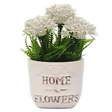Flowers For Home Decor Amazon Com Vgia Artificial Plants For Home Decor Fake Dandelion