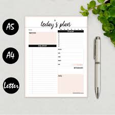 printable hourly planner 2016 printable daily planner 2016 daily agenda daily by becolorfultoday