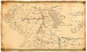 a map of middle earth the hobbit map of middle earth major tourist