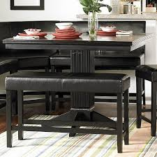 papario counter height dining room set with 2 seaters homelegance