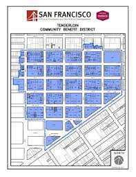 San Francisco Neighborhood Map by Tenderloin Office Of Economic And Workforce Development