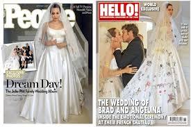 Vanity Fair Wedding Angelina Jolie U0027s Unusual Wedding Dress Revealed Vanity Fair