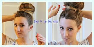 big bun hair moda the mar big bun tutorial