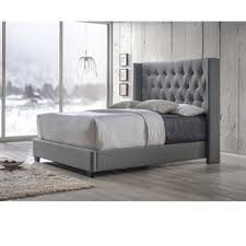Cream Tufted Bed Bedding Appealing Tufted Bed Frame Black Leather With Metal Legs