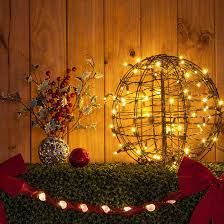 outdoor christmas light balls christmas light ball with warm white led lights hang light balls