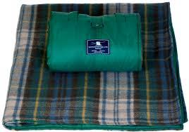 plaid tartan waterproof wool tartan picnic rugs blankets