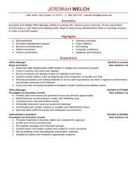 Sample Resume Objectives For Billing by Office Manager Resume Sample Format Medical Billing Samples
