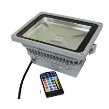 Color Changing Flood Lights 30w Rgb Color Changing Led Flood Light With Remote In Waterproof