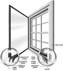 Interior Storm Window Inserts Window Savers Magnetic Interior Storm Windows Installation