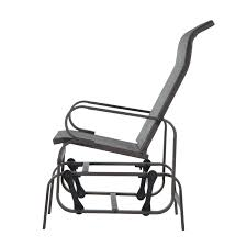 outsunny glider swing chair seat lounger porch rocker outdoor