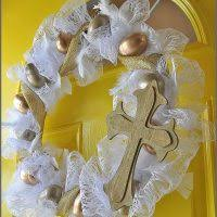 how to make easter wreaths 20 gorgeous easter wreaths you can make sparkles of