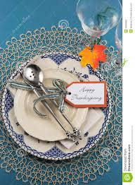 thanksgiving dinner place cards vintage thanksgiving dinner table place setting vertical stock
