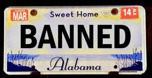 Banned Vanity Plates Auburn Or Bama Like To Call Yourself A Devil See What U0027s Not