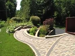 Retaining Wall Patio Design Retaining Wall Patio Paver Design Installation
