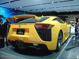 lexus lfa wallpaper yellow 2011 lexus lfa in pearl yellow gtcarlot com